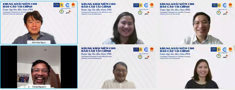 Hình ảnh diễn giả kỳ sinh hoạt thứ 6 năm 2021 của CLB kế toán trưởng toàn quốc