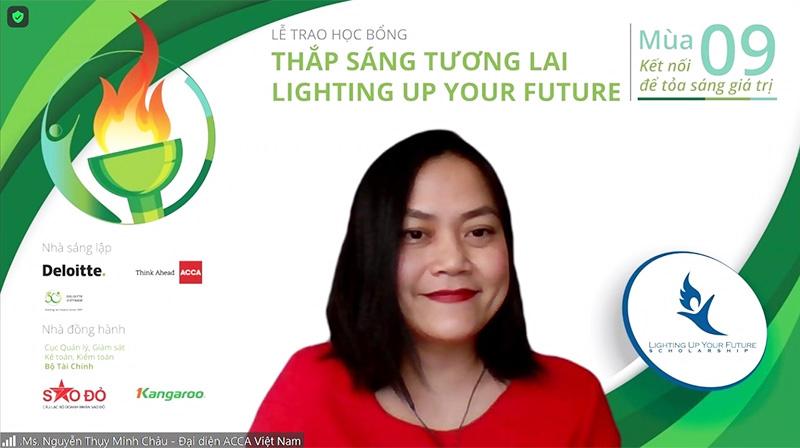 Bà Nguyễn Thụy Minh Châu - ACCA Việt Nam